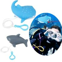 Cartoon Whale Shark Shape Diver Underwater Doll  Buoyancy CD Pendant