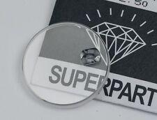 Orologio di cristallo ZAFFIRO per ROLEX TUDOR 20.8mm Vetro Sostituzione Parte 92513 NUOVO