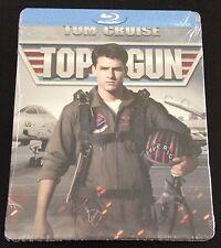 TOP GUN Blu Ray Steelbook Best Buy Exclusive Tom Cruise. OOP, Sold Out & Rare!