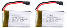 DAS 3.7v 720mAh Lithium Extended Battery (2 Pack) for Spartan + Sentinel Drone