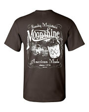 Smoky Mountain Moonshine T-Shirt Tennessee Whiskey Tee Shirt