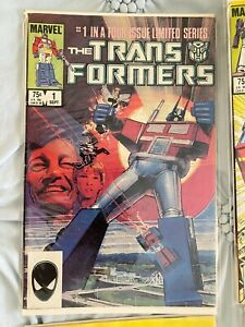 The Transformers #1-31 (Sep'84-Aug'86, Marvel) Clean, bagged, great condition