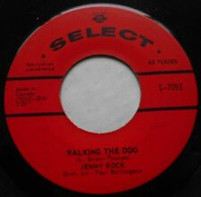 JENNY ROCK Walking the dog KILLER GARAGE R&B FRENCH ORIG 1965 Canada 45
