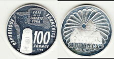 RARE ESSAI  SAINTE MERE EGLISE  VOIE LIBERTE 1944 ARGENT /SILVER