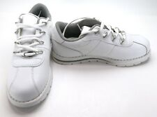 Lugz Shoes Zrocs Gothic Athletic Leather White/Grey Sneakers Size 7.5