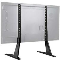 PERLESMITH Universal Table Top TV Stand for 22-65 Inch Flat Screen, LCD TVs