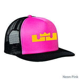 LeBron James Hat Cap Trucker Meshback NBA Cleveland Cavaliers LJ Crown or TShirt