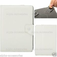 """Universal Grip Stand Case PU Leather Cover For 7"""" 7 Inch Tab Android Tablet PC"""
