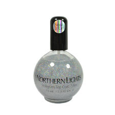 Inm Out The Door Silver Holographic Nail Top Coat 2.5oz / 73ml