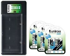 UNiROSS UNIVERSAL AA/AAA/C/D/PP3 BATTERY CHARGER+ 12 x AA 2600 SERIES BATTERIES