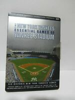 The New York Yankees Essential Games of Yankee Stadium 6 Disc Set DVD Incomplete