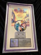 RARE!!! The Hunchback of Notre Dame, Platinum Certified Sales Award RIAA DISNEY