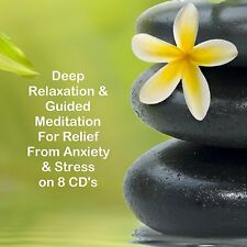 Relaxation & Relief from Anxiety & Stress on 8 CDs Healing Help Sleep Meditation