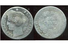 50 centimes CERES  1871 K      argent
