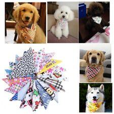 5Pcs Assorted Small Dog Bandana Triangle Bibs Scarf Baby Pet Neck Accessories