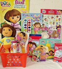 NEW DORA TOY EASTER TOY GIFT BASKET birthday TOYS DOLL GAME ART PLAY SET