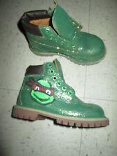 Timberland NUBUCK Wheat Boot 12809 Boy Toddler Ninga Turtle Custom Theme Party!