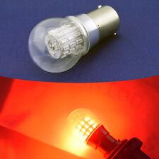2x Red BA15S 1156  Bulb LED P21W 3014 39 SMD Car Signal Light Lamp AC 12V - 24V