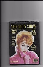 """THE LUCY SHOW, DVD """"3 FULL-LENGTH SHOWS ON 1 DVD"""" NEW SEALED"""