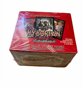 VTG Hyborian Gates CCG Limited Edition Booster Box Sealed 1995 36 Booster Packs