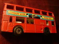 "MATCHBOX BUS   "" LEYLAND TITAN ""   1981 Made in China"