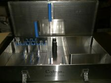 CODMAN 50-4508 STAINLESS STERILIZATION CASE FOR BOOKWATER BLADES