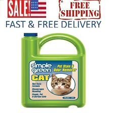 Cat Stain Odor Remover Enzyme Cleaner for Urine Feces Blood Vomit 1gallon Refill