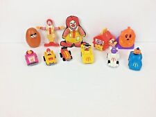 Vintage Ronald McDonald Collection Happy Meal Toys - Big Mac Hamburglar Grimace