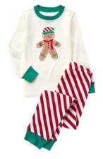Gymboree Gingerbread Boy Stripe Pajamas NWT Holiday Christmas Red Green Size 10