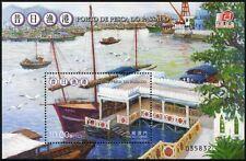MACAU MACAO 2012 Fischereihafen Gemälde Harbour Fishing Block 205 ** MNH