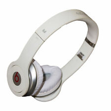 Beats by Dr. Dre SOLO Wired Headband On-Ear Headphones Ivory White