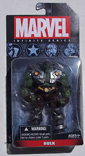 MARVEL INFINITE SERIES. HULK. 4 INCH FIGURE. NEW ON CARD