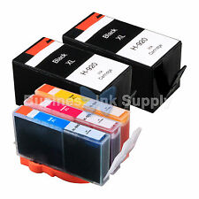 5 PACK 920XL New GENERIC 920 Ink for HP Officejet 6000 (E609) 6500 (E709 E710)