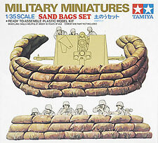 Tamiya 1/35 Sand Bag Set  Plastic Model Assembly Kit #35025