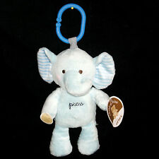 Carters Child Of Mine Blue Elephant Ring Music Plush Twinkle Little Star NEW