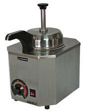 Nacho Cheese Dispenser Warmer Paragon 2028C Heated Spout, Hot Fudge, Caramel