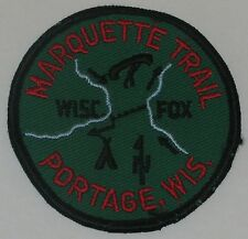 Marquette Trail (WI) Pocket Patch  BSA