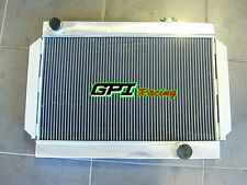 3 CORE ALLOY ALUMINUM RADIATOR FOR holden V8 chevy motor universal