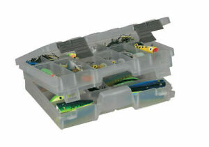 Plano 460000 Guide Series Two-Tiered Stowaway - Smoke Color -Medium-