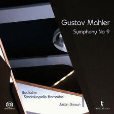 Badische Staatskapelle Karlsruhe - Mahler Symphony No 9 [CD]