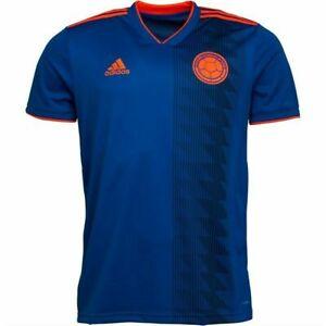 Colombia Football Shirt Kit Top Away Jersey Short Sleeved Small Adidas 2018-2019
