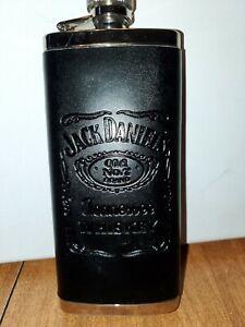 Jack Daniels stainless steel whiskey flask