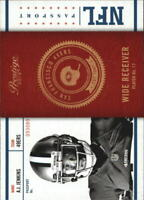 2012 Prestige NFL Passport Football Card Pick