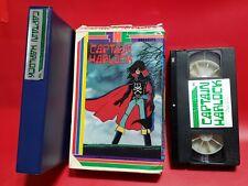 Captain Harlock - Vintage VHS Big Box 1981 Anime Movie !!