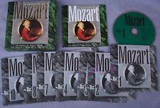 TREASURY OF MOZART Philips 10 x CD Alfred Brendel Jack Brymer Neville Marriner