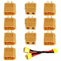 New 5Pairs Male Female XT60 Bullet Connector Plug ESC For RC Lipo Battery Hot