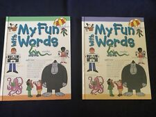 NEW MY FUN WITH WORDS DICTIONARY 2 VOLUME SET BOOKS