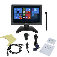 "10"" IPS 16:10 Touch Screen LCD HD Video Monitor HDMI VGA AV BNC PC POS CCTV"