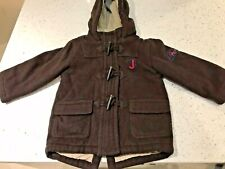 Jasper Conran Junior J Brown Duffle Coat Age 18 - 24m Excellent Condition