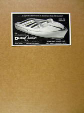 1956 Duracraft Boats DuraCruise Boat vintage print Ad